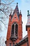 教会钟楼 库存图片