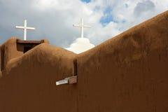 教会镇taos 库存图片
