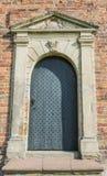 教会门在Kantens 免版税图库摄影