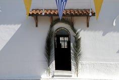 教会门 免版税库存图片