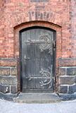 教会门 免版税图库摄影