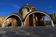 教会马其顿斯科普里 免版税库存照片