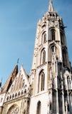 教会马赛厄斯 免版税库存照片