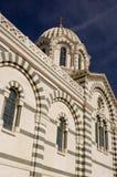 教会马赛 图库摄影