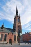 教会骑士s斯德哥尔摩 免版税库存图片