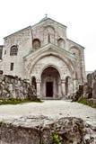 教会,乔治亚,更低的Svaneti山的被找出的Racha地区 免版税图库摄影