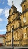 教会,利昂,尼加拉瓜 免版税库存照片