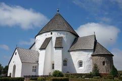 教会,博恩霍尔姆,丹麦 库存图片