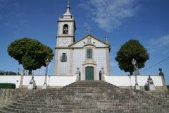 教会,卡约埃尔考斯,葡萄牙 免版税图库摄影