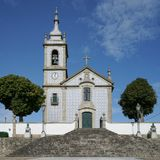 教会,卡约埃尔考斯,葡萄牙 免版税库存照片