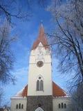 教会,立陶宛 免版税库存图片