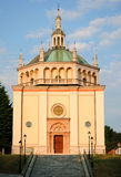 教会, Crespi dAdda 免版税图库摄影
