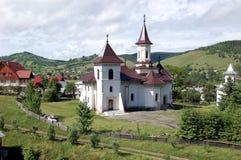 教会, Gura Humorului,罗马尼亚 库存图片
