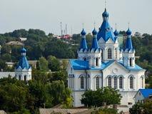 教会, Kamianets-Podilskyi,乌克兰 免版税库存图片