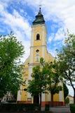 教会, Lucenec,斯洛伐克 免版税库存照片