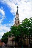 教会, Lucenec,斯洛伐克 免版税图库摄影