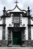 教会, Ribeira Quente,葡萄牙 免版税库存图片