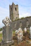 教会破坏爱尔兰 库存照片
