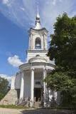 教会巴拉姆Khutynsky在市沃洛格达州 库存图片