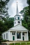教会-老Sturbridge村庄- Sturbridge, MA 免版税库存照片
