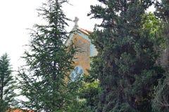 教会以色列latrun修道院 库存照片
