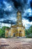 教会黄色 库存照片