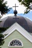 教会细节 库存照片