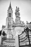 教会Blumental在布拉索夫,斯洛伐克 免版税库存照片