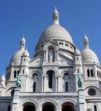 教会coeur巴黎sacre 免版税库存图片
