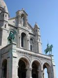 教会coeur巴黎sacre 库存图片