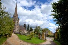教会cotswold英国 库存照片