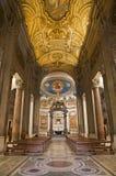 教会croce gerusalemme罗马圣诞老人 免版税库存图片