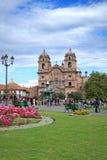 教会cuzco 图库摄影