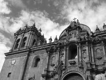 教会cuzco 库存照片