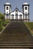 教会de执行igreja马德拉岛monte nossa senhora 免版税库存照片