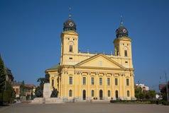 教会debrecen极大的匈牙利 库存图片