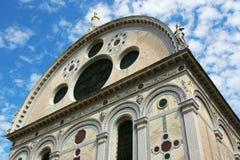教会dei玛丽亚miracoli圣诞老人 免版税库存照片