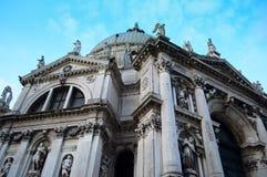 教会della意大利玛丽亚致敬圣诞老人威&#236 免版税库存照片