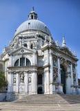 教会della玛丽亚致敬圣诞老人威尼斯 免版税库存图片