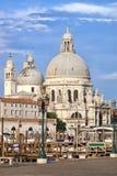 教会della玛丽亚致敬圣诞老人威尼斯 图库摄影