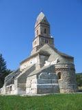 教会densus罗马尼亚 免版税库存图片