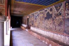 教会dionisiou希腊老st 免版税图库摄影