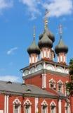 教会donskoj莫斯科rizopolojenia俄国 免版税图库摄影