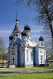 教会druskininkai立陶宛 库存图片