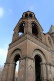 教会echmiadzin 免版税库存照片
