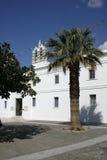 教会ekatontapiliani希腊paros 库存照片