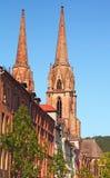 教会elisabeths marburg st 免版税图库摄影