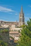 教会emilion法国圣徒 免版税图库摄影