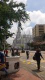 教会ermita cali哥伦比亚 图库摄影