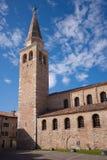 教会eufemia grado意大利圣诞老人 免版税库存照片
